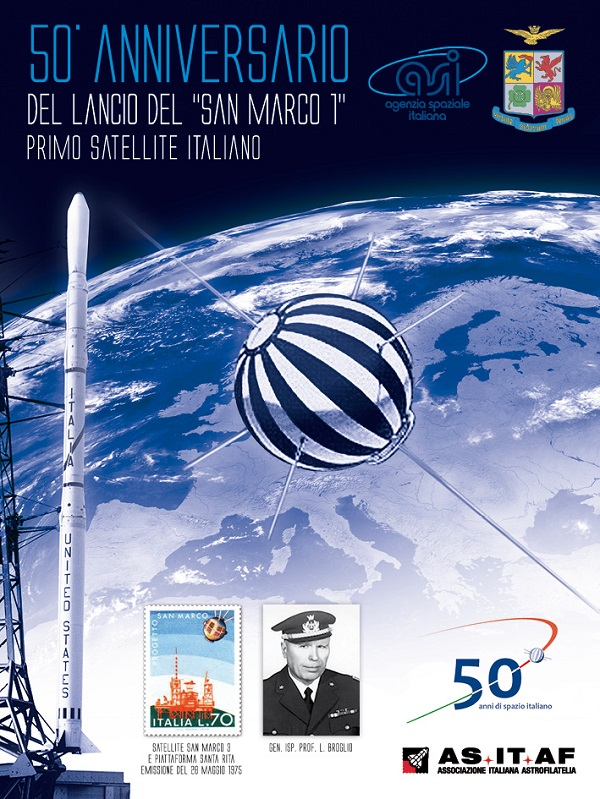 Cartolina satellite San Marco